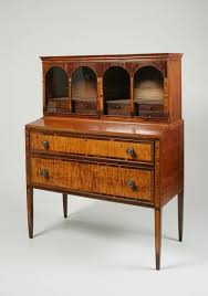 odd furniture pieces. this desk represents a two toned veneered and inlaid mahogany maple drawers odd furniture pieces