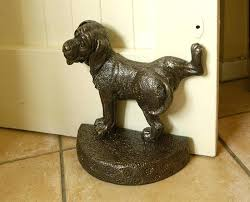Decorative Door Stop Metal Dog Doorstop Stops Nz Within Inspirations 9