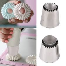 Extra Large Sultan Premium Flower Piping <b>Nozzles</b> Cookie <b>Cake</b> ...
