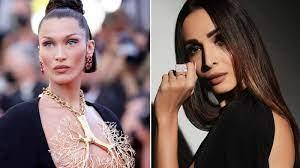 Schiaparelli look at Cannes 2021 ...