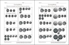 Coin-worksheets- & Grade 3 Counting Money Worksheet On Counting ...