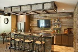 Wonderful Basement Bar Ideas Stone Magnificent Rustic Home With Intended Inspiration Decorating