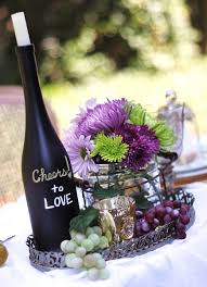Amazing of Wine Themed Wedding Centerpieces 7 Wine Bottle Centerpieces You  Can Diy For Your Wedding Day