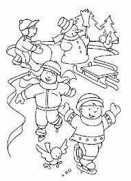 Winter Coloring Pages For Preschool. Coloring Pages Timeless ...