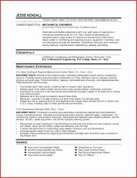 Electrical Engineering Resume Examples Beauteous Sample Electrical Engineer Resume Lovely Resume For Maintenance