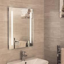 Illuminated Bathroom Mirrors with Lights Plumbworld