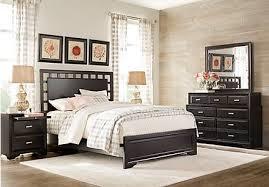 Image Ashley Belcourt Black Pc Queen Lattice Bedroom Furniturecom Black Queen Bedroom Sets