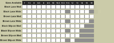 Nunn Bush Size Chart Best Picture Of Chart Anyimage Org