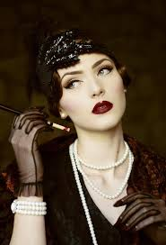 dark 1920 s flapper look by nina and muna i was born in the wrong era i want to dress like this so bad