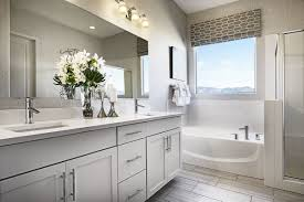 American Home Design Bathrooms Soak In The Sunshine Master Bathroom Dominic Model Home