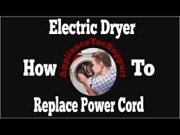 how to change a 3 prong dryer power cable to 4 prong
