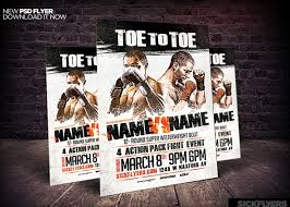 26 Best Boxing Flyer Designs Creatives Word Psd Ai