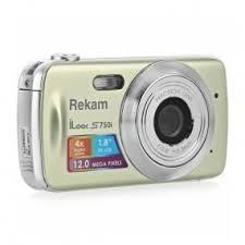 Цифровая фотокамера <b>Rekam iLook S750i</b> champagne