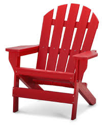 plastic adirondack chairs. Model PB-ADCAP | Cape Cod Commercial Grade Recycled Plastic Adirondack Chair (Red) Chairs G