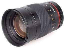 Image result for Samyang 135mm f/2 ED UMC