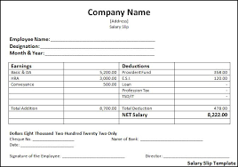 standard operating procedure template word payslip template word format