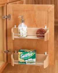 Shelf Cabinet With Doors Rev A Shelf 14 Door Storage Tray W Screw In Clips Cabinetscom