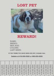 how to make lost dog flyers how to make lost dog flyers in microsoft word pikeproductoseb