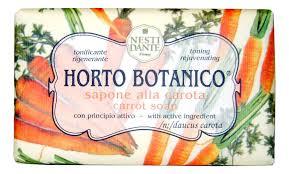 Купить мыло Horto Botanico <b>Carrot</b> Soap 250г (<b>морковь</b>) <b>NESTI</b> ...