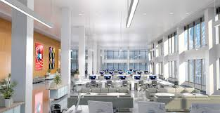 creating office space. An Entire Bay Of Columns Is Being Removed On The 7th Floor, Creating A 200\u0027 X 45\u0027 Column Free Span Allowing For Clear Lines Sight Across Office Space F