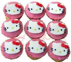 Hello Kitty Cupcakes Funny Toon Cakes Cake Square Chennai