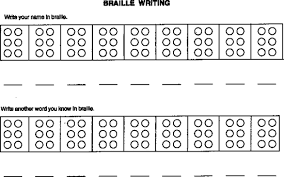 10 Best Photos Of Braille Worksheets Printables Braille