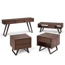 max fulton solid acacia wood and metal