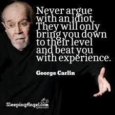 George Carlin Quote Sleeping Angel