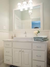 Luxury Small Bathroom Design Featuring Modern Wall Lights Fixtures - Bathroom vanity lighting