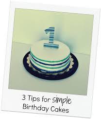 First Birthday Cake Ideas Easy Healthy Food Galerry