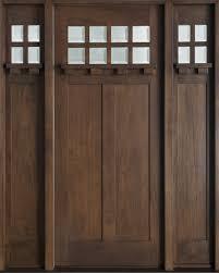 custom front doorFront Door Custom  Single with 2 Sidelites  Solid Wood with