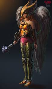 Hawkgirl dc naked fan art