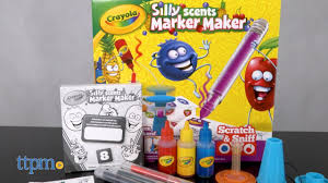 Silly Scents Marker Maker Review Instructions Crayola