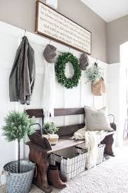 A Rustic Bench | Modern Farmhouse Decor Ideas You'll Want For Your Own Home