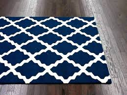 blue white striped rug navy and area