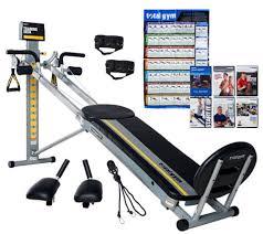 Total Gym Comparison Chart Total Gym Fit Qvc Com