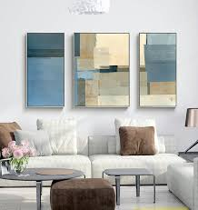 decorative canvas painting 3 piece canvas wall art wall pictures for living room yellow blue grey on yellow blue and grey wall art with decorative canvas painting 3 piece canvas wall art wall pictures for