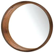 round wood frame mirror round wall mirror brown rustic wall mirrors wood frame mirror diy wood