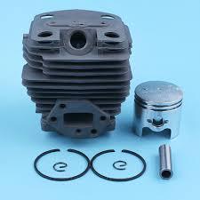 40mm Nikasil Plated Cylinder Piston Kit For <b>Husqvarna 143R II</b> ...