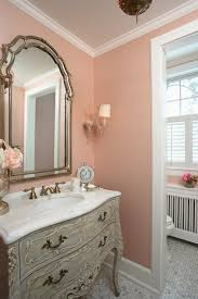 another important piece and what we ll see next is lighting i have some very definite ideas about lighting in a bathroom first sconces
