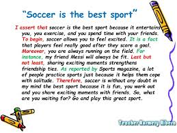 write an essay about soccer an essay sample on soccer poets union