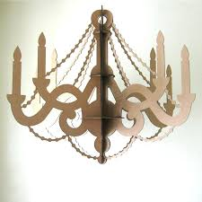 large cardboard chandelier items similar to large cardboard paper chandelier laser cut party decor on crystal