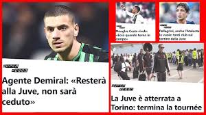 Calciomercato Juventus: Pellegrini e Demiral Ceduti ? Douglas Costa  Infortunio.