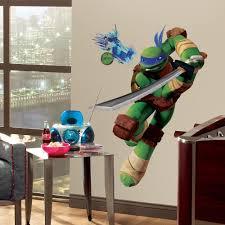 Ninja Turtle Bedroom Decor Teenage Mutant Ninja Turtles Wall Decals Ebay