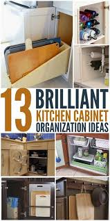 kitchen drawer organization ideas 1000 ideas about organizing kitchen cabinets on