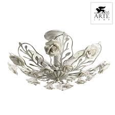 <b>Люстра Arte Lamp</b> Idillio <b>A6356PL</b>-<b>4WG</b> - купить в интернет ...