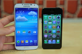galaxy s4 screen size iphone 5 vs samsung galaxy s4 a rivalry that will never die