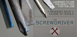 Slotted Screwdriver Size Chart The Screwdriver Guide Types And How To Use Them