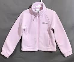Columbia Xxs Size Chart Columbia Fleece Zip Up Jacket Girls Size Xxs 4 5 Light