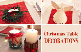Small Picture DIY Christmas Table Decorations YouTube